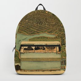 Map Of Oakland 1900 Backpack