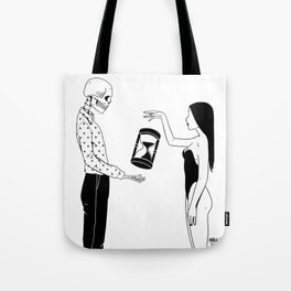 Out Of Our Time Tote Bag
