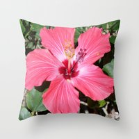 florida Throw Pillows featuring FLORIDA by Manuel Estrela 113 Art Miami