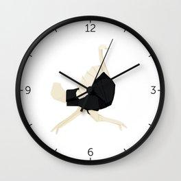 Origami Ostrich Wall Clock