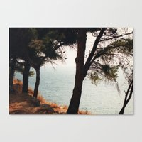 greece Canvas Prints featuring Greece by Nicky Severein