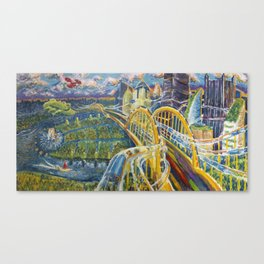 FutureBurgh Canvas Print