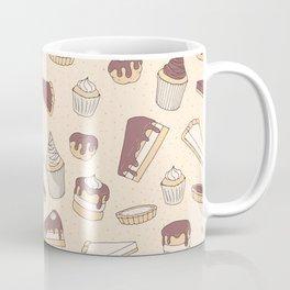 Chocolate Pastry Pattern Coffee Mug