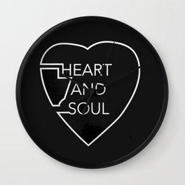heart and soul - twin atlantic  Wall Clock