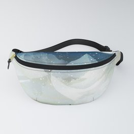 Mountain Lake Under the Starlight Fanny Pack