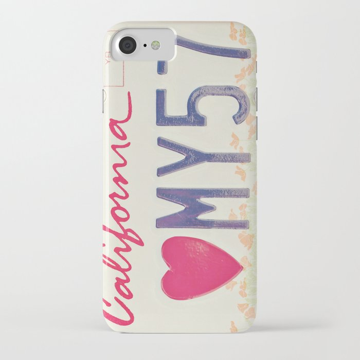 Hello Love iPhone Case