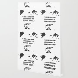 """""""I am a machine condemned to devour books.""""   Karl Marx Wallpaper"""