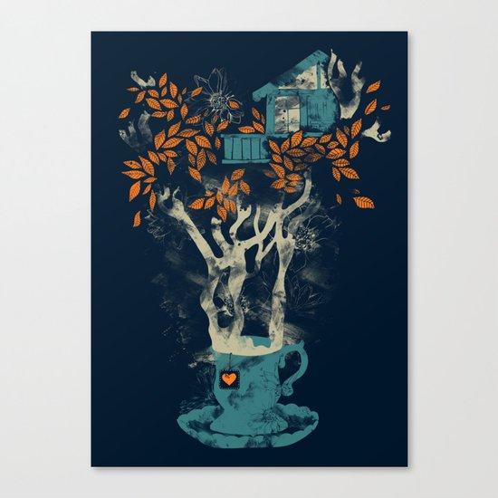 Tea House Canvas Print