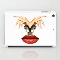 tigers iPad Cases featuring Tigers  by Tina Time