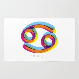 Cancer ~ Zodiac Rug