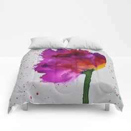 Burst of Color Comforters