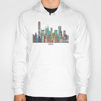 memphis Hoodies featuring Memphis city by bri.buckley