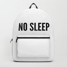 NO SLEEP Backpack