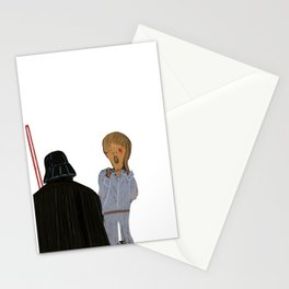Edvard Munch I am your father Stationery Cards