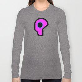 Futuristic Cyborg Logo 9 Long Sleeve T-shirt