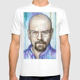Walter White Portrait T-shirt
