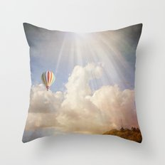 Dreams of Light Throw Pillow