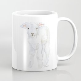 Lamb 2 Watercolor Coffee Mug