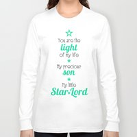 star lord Long Sleeve T-shirts featuring My Little Star Lord by foreverwars