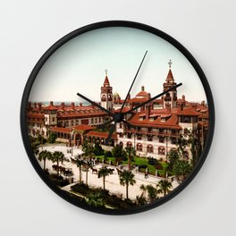 The Ponce de Leon, St. Augustine, Florida, 1902 Wall Clock