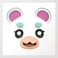 Animal Crossing Flurry Art Print