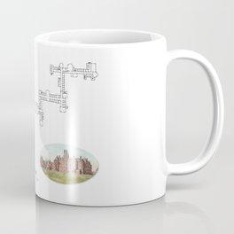 Hudson River State Hospital Blueprint Print Coffee Mug