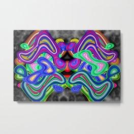 Colored nightmare ... Metal Print