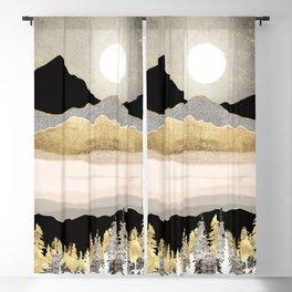 Winter Moon Blackout Curtain