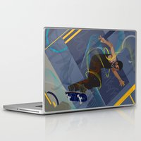 skateboard Laptop & iPad Skins featuring Project Skateboard by Martin Orme
