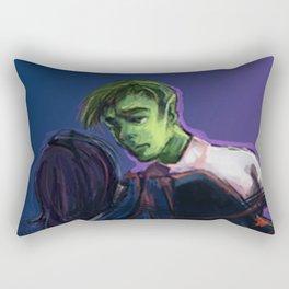 Fallen Raven Rectangular Pillow