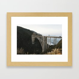Bixby Canyon Framed Art Print
