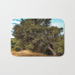 Olive Tree Bath Mat