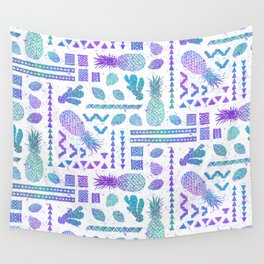 Pineapple Ginger Mint Wall Tapestry