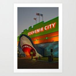 Souvenir City, 2019 Art Print