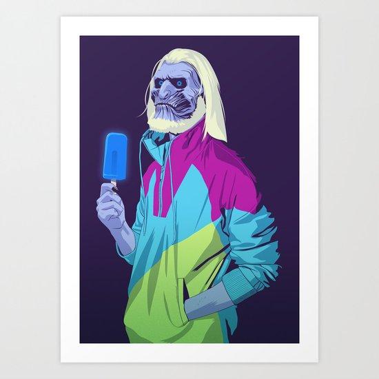 80/90s - WW Art Print
