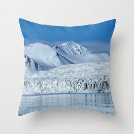 Sailing Svalbard Throw Pillow