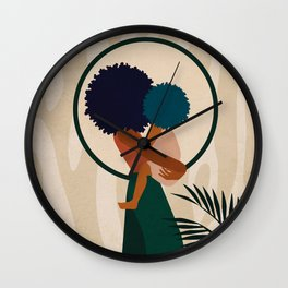 Stay Home No. 3 Wall Clock