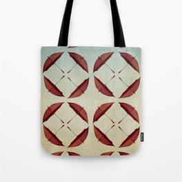 fanned umbrellas Tote Bag