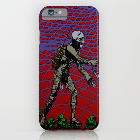 In Martian Fields iPhone & iPod Case