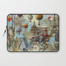 The World Traveller Laptop Sleeve