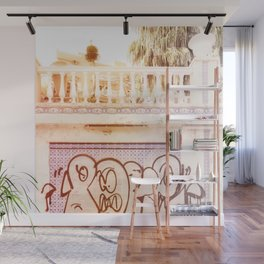 Art & Palms are Everywhere Wall Mural