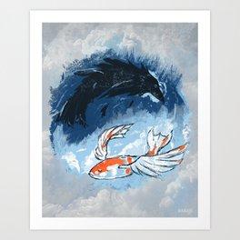 Ocean of Sky Art Print
