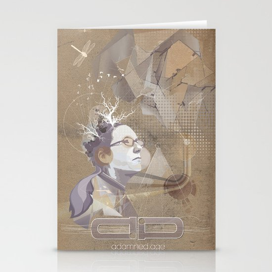 adamned.age artist poster  Stationery Cards