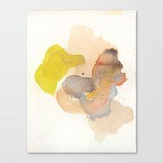 Watercolor Eleven Canvas Print