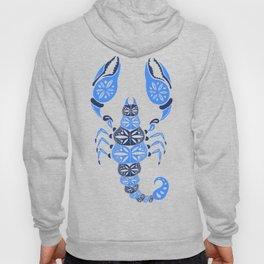 Blue Scorpion Hoody