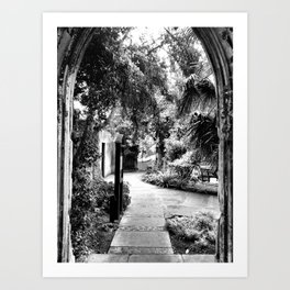St Dunstan-In-the-East Art Print