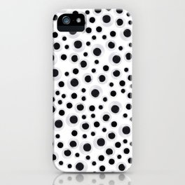 Is Someone Watching Me - Googly Eyes iPhone Case