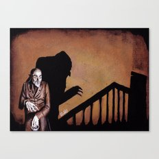 Nosferatu - A Symphony of HORROR! Canvas Print