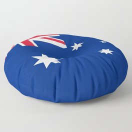 Flag of Australia - Authentic High Quality image Floor Pillow
