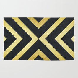 Golden pattern II Rug